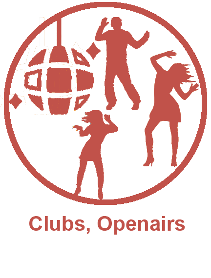 Clubs, Openairs